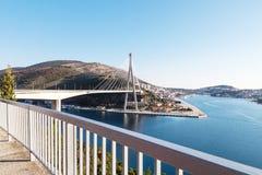Wunderbarer Seeanblick von Dubrovnik Stockbild