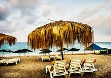Wunderbarer Strand in der Türkei Stockfotos