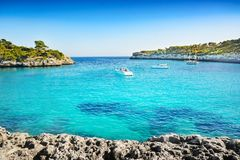 Wunderbarer Strand in Mallorca Lizenzfreie Stockfotos