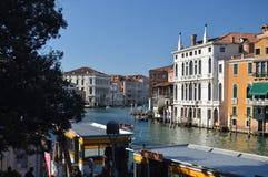 Wunderbares Foto bei Sonnenuntergang Grand Canal s in Venedig Reise, Feiertage, Architektur 28. März 2015 Region Venedigs, Veneti stockfoto