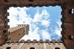 Wunderbares Siena stockfotos