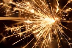 Wunderkerzefeuerwerke Stockfotos