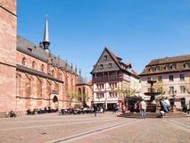 Wunderliche alte Stadt Stockbilder