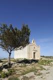 Wunderliche mittelalterliche Kapelle, Malta Lizenzfreies Stockbild