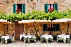 Wunderliches Café Lizenzfreies Stockbild