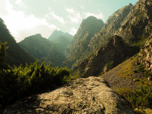 Wundervolle Berge lizenzfreie stockbilder