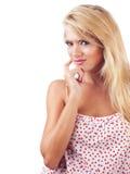Wundervolle blonde Frauen Stockbilder