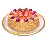 Wundervolle Torte stock abbildung