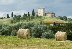 Wundervolle Toskana Stockfotos