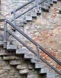 Wundervolle Wände - und Treppenhaus in Deutschland Lizenzfreie Stockbilder