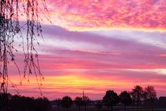 Wundervoller Sonnenaufgang Lizenzfreies Stockbild