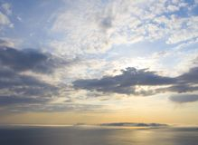 Wundervoller Sonnenuntergang Lizenzfreie Stockfotografie