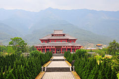Wundervoller Tempel Lizenzfreies Stockbild