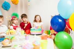 Wunsch auf Geburtstag lizenzfreies stockbild