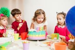 Wunsch auf Geburtstag stockbilder