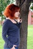 Wunsch durch den Baum stockbilder