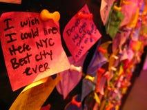 Wunsch für New York Stockbilder