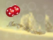 Wunsch-frohe Weihnachten Lizenzfreies Stockfoto