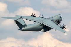 German Air Force Airbus A400M transport airplane Stock Images