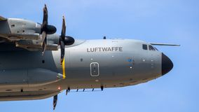 German Air Force Airbus A400M transport airplane Stock Photos