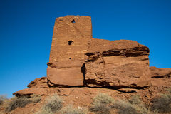 Wupatki  National Monument near Flagstaff, Arizona Royalty Free Stock Photo