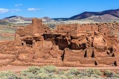 Wupatki National Monument Royalty Free Stock Photography