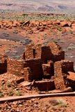 Wupatki osada, Wupatki Krajowy zabytek zdjęcia stock