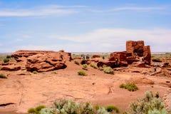 The Wupatki Pueblo Royalty Free Stock Photos