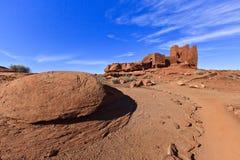 Wupatki Pueblo Ruins Stock Photography