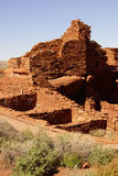 Wupatki pueblo ruins Stock Photography