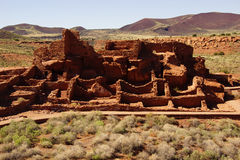 Wupatki pueblo ruins Royalty Free Stock Images