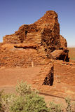 Wupatki pueblo ruins Royalty Free Stock Photography
