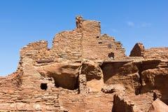 Wupatki ruin struktury Zdjęcia Stock
