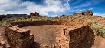 Wupatkipueblo ruïneert Nationaal Monument, Arizona Stock Foto