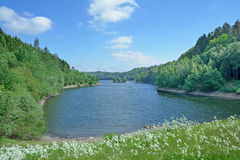 Wupper Reservoir,Remscheid,Bergisches Land,Germany Royalty Free Stock Photography