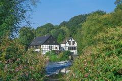 Wupper River,Solingen,Germany Stock Image