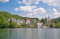 Wuppertal-Beyenburg, Duitsland Royalty-vrije Stock Foto's