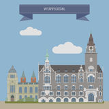 Wuppertal, city in Germany Stock Image