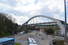 Wuppertal in Deutschland Lizenzfreies Stockbild
