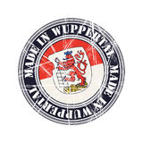 Wuppertal rubber stamp Stock Images