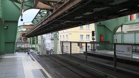 Wuppertal Suspension Railway stock video