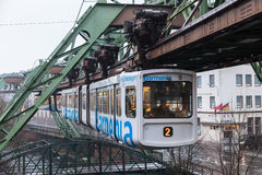 Wuppertal Suspension Railway, Germany Stock Image