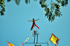 Wuqiao acrobatics Stock Photo