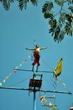 Wuqiao akrobatik Arkivfoton