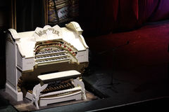 The Wurlitzer Organ Stock Image