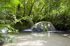 Wurrmbu小河莫斯曼峡谷澳大利亚 免版税库存图片