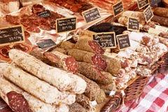 Wurst in Aix-en-Provence lizenzfreie stockfotos