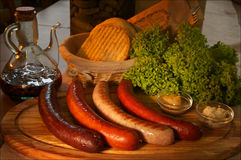 Wurst Royalty Free Stock Photography