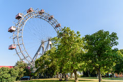 The Wurstelprater Amusement Park (Prater) In Vienna Stock Images