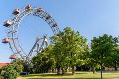 Wurstelprater park rozrywki W Wiedeń (plociuch) Zdjęcia Stock